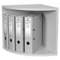 Single Tier Corner Unit in Light Grey - CU6