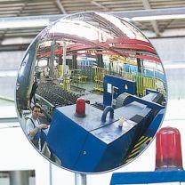 Round observation mirror
