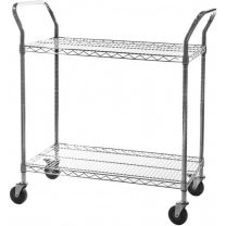 Chrome Wire General Purpose Trolley - Various Sizes Available