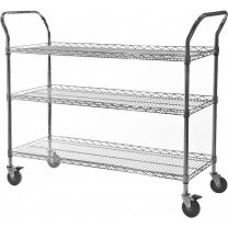 Chrome Wire General Purpose Trolley