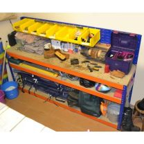 Heavy Duty Workbench With Louvre Back Panel - Various Sizes Available