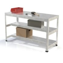 Galvanised heavy Duty Steel Workbench