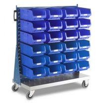 Pick Bin Trolley PLUS bins
