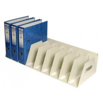 9 Section Lever Arch Filing Rack - Code LAR9