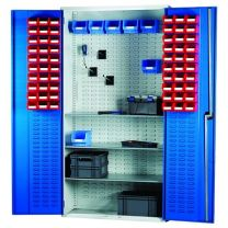 Louvred Panel Cabinet