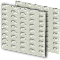 Wall Mounted Louvre Panel Kits With Bins