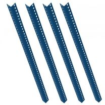 Set of 4 Blue Rax 1 Uprights 1800mm long - R1UP-1800