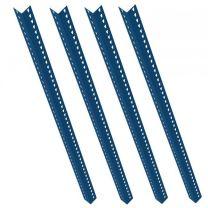 Set of 4 Blue Rax 1 Uprights 2000mm long - R1UP-2000