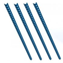 Set of 4 Blue Rax 2 Uprights 1500mm long - R2UP-1500