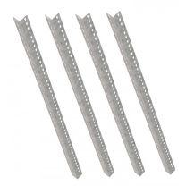 Set of 4 Galvanised Rax 1 Uprights 1800mm long - RG1UP-1800