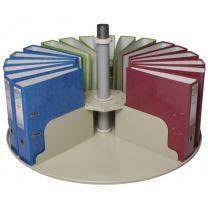 Single Round Tier for Platfile Rotary Storage
