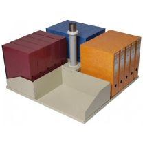 Platfile single square file storage tier