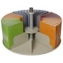 Single Round Tier for Platfile Rotary Storage System