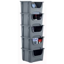 Space Bin Container - Pack of 5
