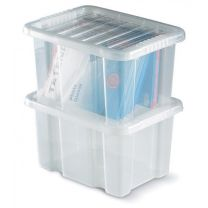 Topstore TopBox Plastic Container Boxes - Optional Lids
