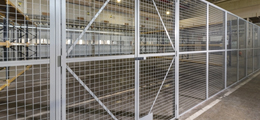 ShelvingDirect steel partitioning